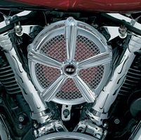 Kuryakyn Hi-Five Mach 2 Chrome Air Cleaner Kit