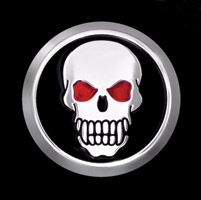 CAT LLC Skull Crankcase Cover