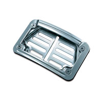 Kuryakyn LED Laydown Curved License Plate Frame for Victory