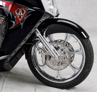 Arlen Ness Fender Relocation Kit