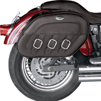 Saddlemen Drifter S4 Rigid-Mount Saddlebags with LED Marker Lights
