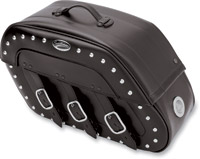 Saddlemen Desperado S4 Rigid-Mount Saddlebags with LED Marker Lights