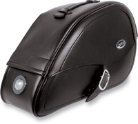 Saddlemen Drifter Teardrop Saddlebags with LED Marker Lights for Suzuki