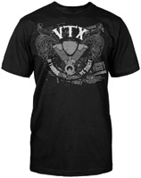 Honda Men's VTX Customs Black T-shirt