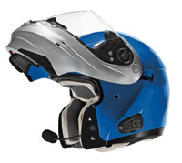 VEGA Summit 3.1 Ultra Blue Metallic Modular Helmet