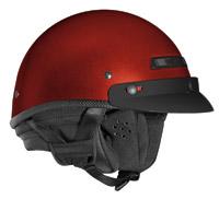VEGA XTA Touring Candy Red Half Helmet
