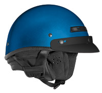 VEGA XTA Touring Ultra Metallic Blue Half Helmet