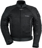 Tour Master Black Intake Air Series 3 Jacket
