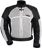 Tour Master White Intake Air Series 3 Jacket