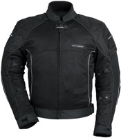 Tour Master Women's Black Intake Air Series 3 Jacket