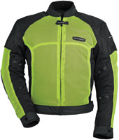 Tour Master Hi Vis Yellow Intake Air Series 3 Jacket