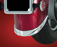 Show Chrome Accessories Contour Rear Fender Tip Accent