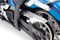 Cobra Chrome Upper belt Guard for Yamaha Stryker