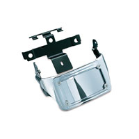Kuryakyn Sub-Fender License Plate Bracket with LED Curved Frame