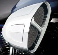 Cobra Chrome PowerFlo Air Cleaner