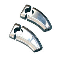 Rivco Handlebar Risers with Caps