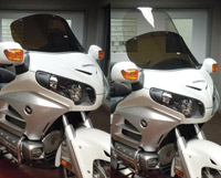 Slip Streamer Bagger Shield for Honda