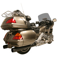 Rush Black 2-1/4″ Slip-on Mufflers for GL1800 Gold Wing