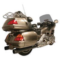 Rush Black 2-1/2″ Slip-on Mufflers for GL1800 Gold Wing