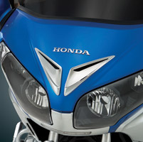 Show Chrome Accessories Chrome Windshield Garnish Vent Accents for Gold Wing