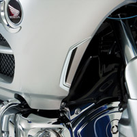 Show Chrome Accessories Vertical Air Intake Accent for Gold Wing