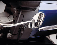 Show Chrome Accessories Deluxe Passenger Armrest CB Bracket Mount