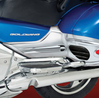 Show Chrome Accessories Battery Side Covers for Gold Wing