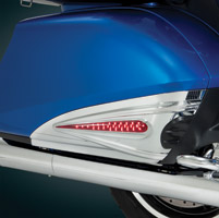 Show Chrome Accessories LED Saddlebag Scuff Accents for GL1800 Gold Wing