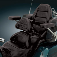 Big Bike Parts Smart Mount Backrest for GoldWing