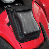 Hopnel Deluxe Premium Double Tank Pouch for Can Am Spyder RT