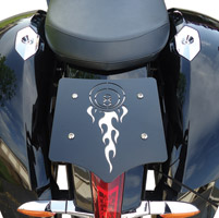 BDD Custom Black 8-Ball Luggage Rack for Victory