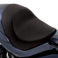 Drag Specialties Solo Seat with Carbon Fiber Look Vinyl
