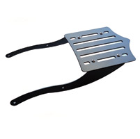 BDD Custom Black Slot Luggage Rack for Victory Factory Backrest Models