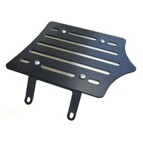 BDD Custom Black Slot Luggage Rack for Solo Seats