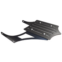 BDD Custom Black Slot Luggage Rack for Yamaha Stryker Models