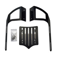 BDD Custom Black Slot Luggage Rack for Kawasaki Vaquero Models