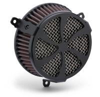 Cobra PowrFlo Air Cleaner Kit Black Swept