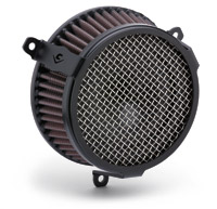 Cobra PowrFlo Air Cleaner Kit Black Round