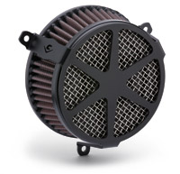 Cobra Black Spoke Air Cleaner Kit