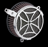 Cobra Chrome Cross Air Cleaner Kit
