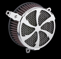 Cobra PowrFlo Air Cleaner Kit Chrome Swept