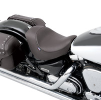 Drag Specialties Low-Profile Smooth Solo Seat