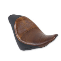 Saddlemen Renegade Deluxe Brown Solo Seat with Passenger Seat Cover