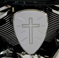 Baron Custom Accessories Big Air Kit Chrome Standard Cross