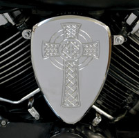 Baron Custom Accessories Big Air Kit Chrome Celtic Cross