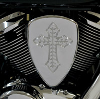Baron Custom Accessories Big Air Kit Chrome Spanish Cross