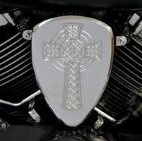 Baron Custom Accessories Big Air Kit Chrome Celtic Cross
