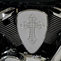 Baron Custom Accessories Big Air Kit Chrome Spanish Cross