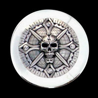 Zambini Skull Air Cleaner Insert
