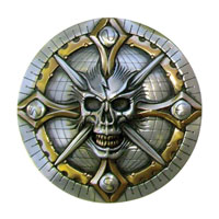 Zambini Skull Compass Air Cl